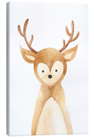Canvas print  Deer - RNDMS