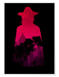 Premium poster The Walking Dead - Carl Grimes - Alternative Fanart