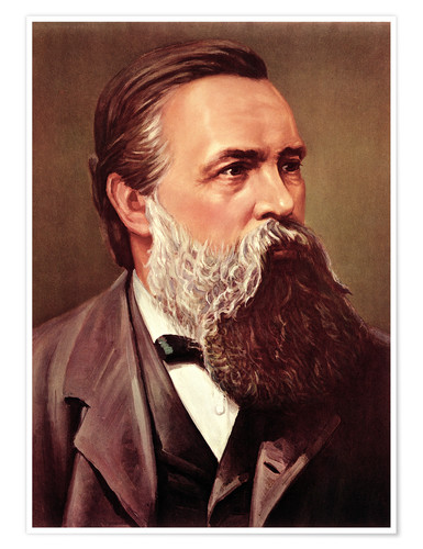 Friedrich Engels Posters And Prints Posterlounge Co Uk