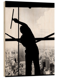 Wood  Empire State Window Washer