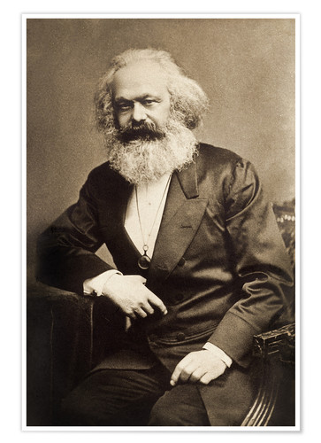 Karl Marx Poster Posters And Prints Posterlounge Co Uk