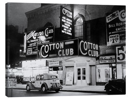Canvas print  Cotton Club in Harlem, New York