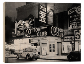 Wood  Cotton Club in Harlem, New York