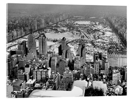 Acrylic print  Historical Midtown And Central Park