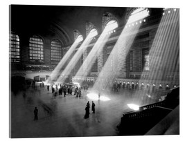 Acrylic print  Historical Grand Central Station