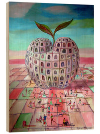 Wood  The big apple - Diego Manuel Rodriguez