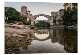 Mike Clegg Photography - Stari Most Bosnia in the morning