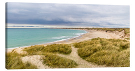 Canvas print  Beach in the national Park Thy - Reemt Peters-Hein