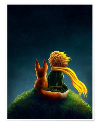 Premium poster Little Prince
