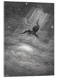 Acrylic print  Paradise Lost - Gustave Doré