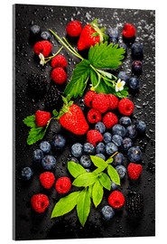 Acrylic print  Juicy berries