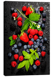 Canvas print  Juicy berries