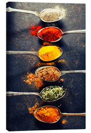 Canvas print  Spices Mix