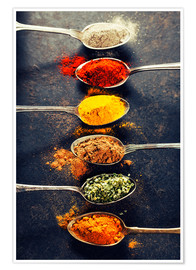 Poster  Spices Mix