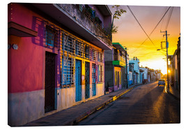 Canvas print  Camaguey, Cuba - Julian Peters