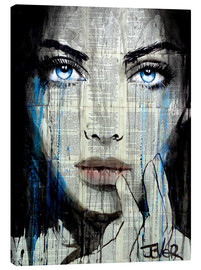 Canvas print  It's getting stormy - Loui Jover