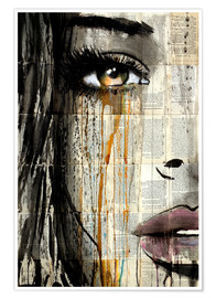 Poster  silent jungle - Loui Jover