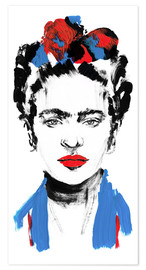 Poster  Just Frida - Sarah Plaumann