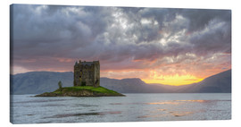 Canvas  Castle Stalker - Michael Valjak