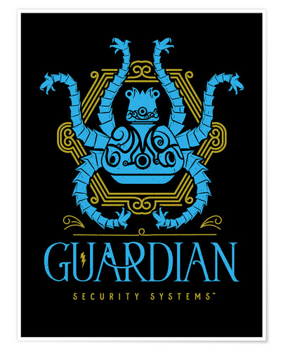 Premium poster the guardian security