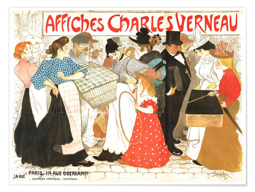 Premium poster Affiches Charles Verneau