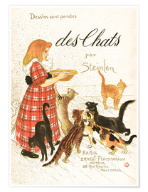 Premium poster Des Chats (French)