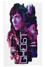 Foam board print  Ghost in the Shell - Barrett Biggers