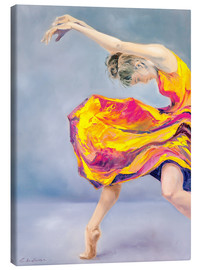 Canvas print  Dance and emotion - Evdokia Kulikova