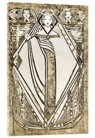 Margaret MacDonald Mackintosh - the Queen of Diamonds in her Four Queens