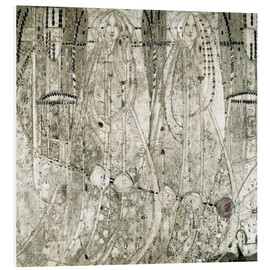 Margaret MacDonald Mackintosh - Queen of Diamonds