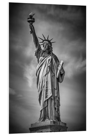 Foam board print  NEW YORK CITY Statue of Liberty - Melanie Viola