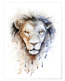 Premium poster Astrological sign, Leo
