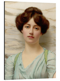Aluminium print  Carina - John William Godward