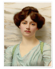 Poster  Carina - John William Godward