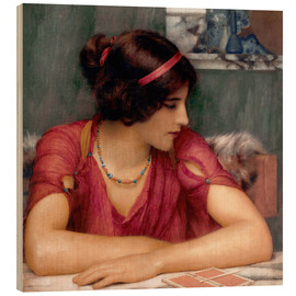 Wood  The Letter - John William Godward