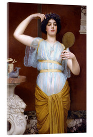 Acrylic print  Ione - John William Godward