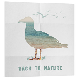 Forex  Back to nature - seagull - Sybille Sterk
