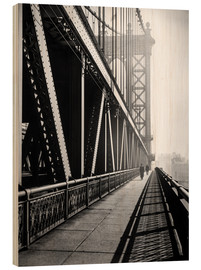 Wood  Manhattan Bridge 1936 - Christian Müringer