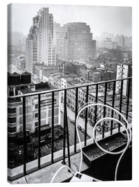Christian Müringer - New York: View from penthouse, 56 Seventh Avenue, Manhattan