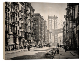 Christian Müringer - Historic New York: Pike and Henry Streets, Manhattan