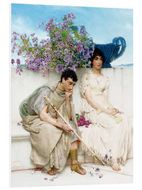 Forex  An Eloquent Silence - Lawrence Alma-Tadema