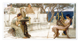 Poster Sappho and Alcaeus