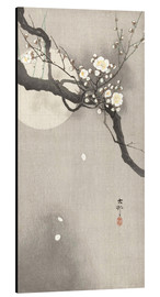 Aluminium print  Plum Blossoms at Night - Ohara Koson