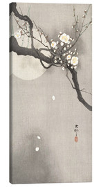 Canvas print  Plum Blossoms at Night - Ohara Koson