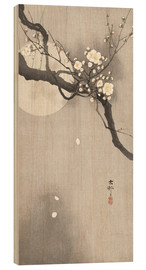 Wood print  Plum Blossoms at Night - Ohara Koson