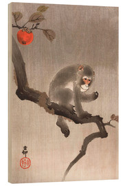 Wood print  Monkey in a Tree - Ohara Koson