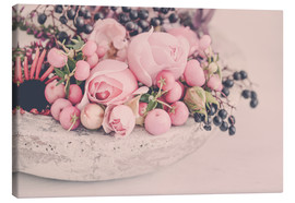 Canvas print  Vintage Rose - Andrea Haase Foto