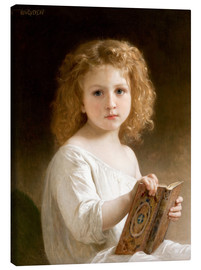 William Adolphe Bouguereau - The story book