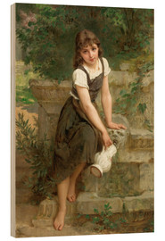 Wood  At the fountain - Emile Munier