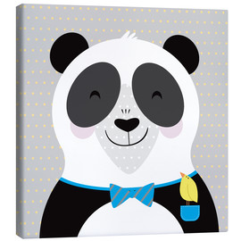 Canvas print  Happy Panda - ilaamen Pelshaw